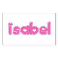 """Isabel"" Rectangle Decal"