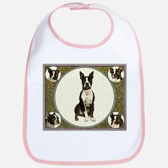 Boston Terriers Bib