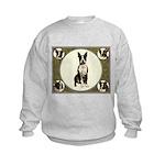 Boston Terriers Kids Sweatshirt