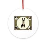Boston Terriers Ornament (Round)