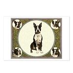 Boston Terriers Postcards (Package of 8)