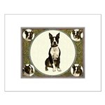 Boston Terriers Small Poster