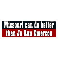 Missouri can do better than Jo Ann Emerson sticker