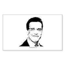 Arnold Schwarzenegger - Rectangle Bumper Stickers