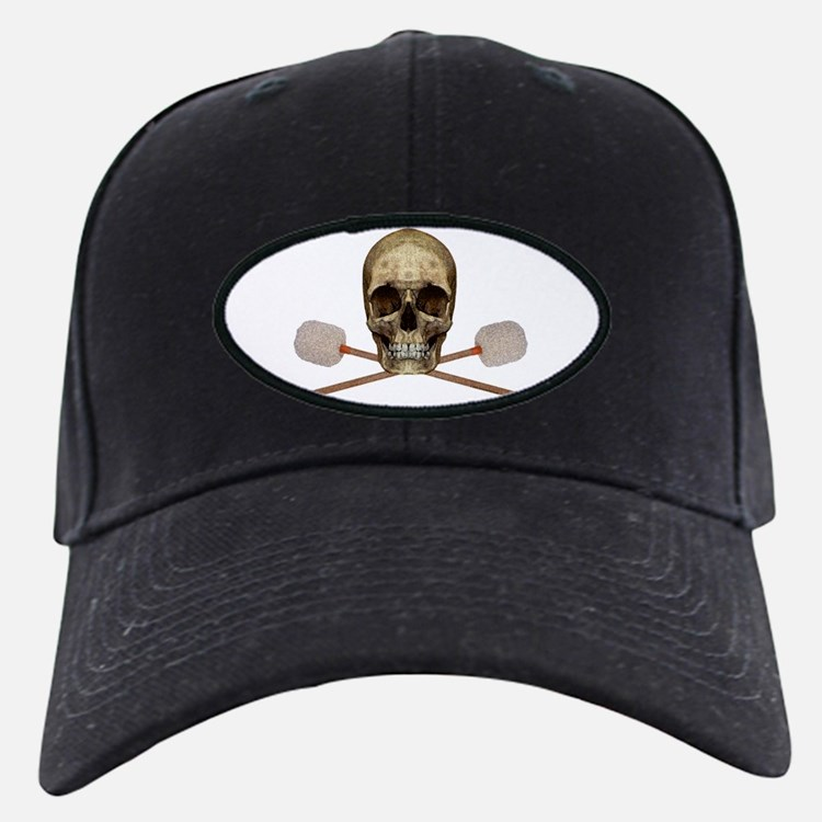Bass Drum Pirate Baseball Hat