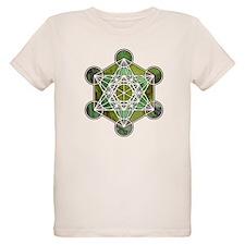 Green Metatron's Cube T-Shirt