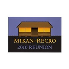 2010 Reunion Logo Rectangle Magnet