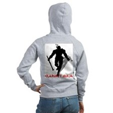 BandNerd.com: Clarinet Ninja Zip Hoodie