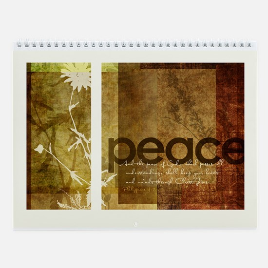 2010 Contemporary Scripture Based Wall Calendar