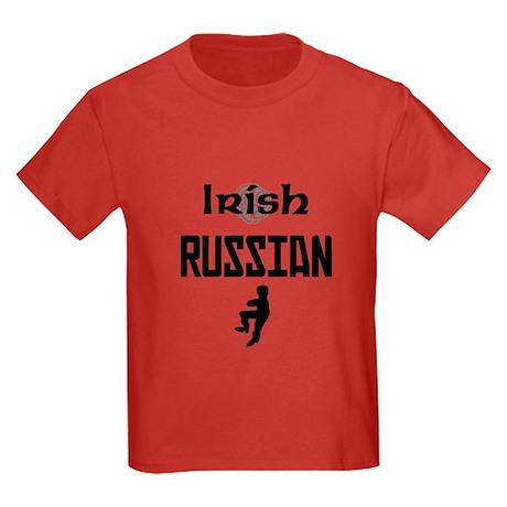 Irish Russian Kids Dark T-Shirt