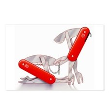 Fetish Swiss Army Knives Postcards (Package of 8)