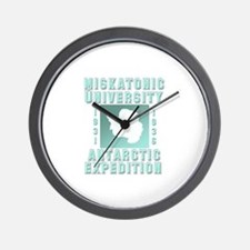 Miskatonic Antarctic Expedition Wall Clock