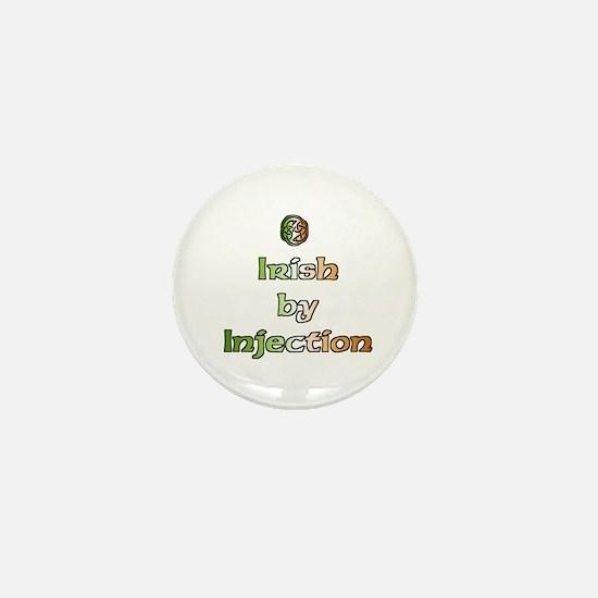 Irish by Injection Mini Button