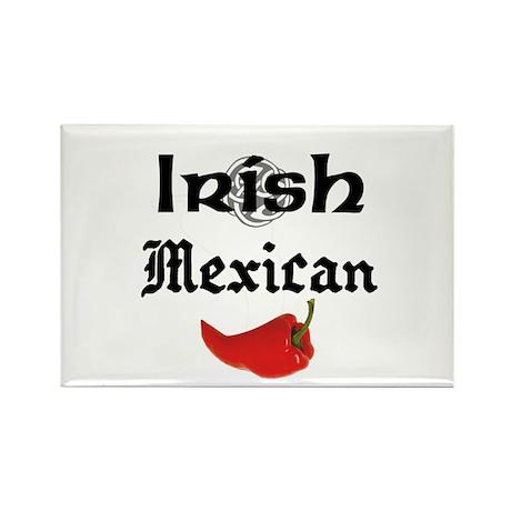 Irish Mexican Rectangle Magnet