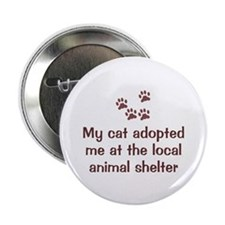 "Cat Adopted Me 2.25"" Button (10 pack)"