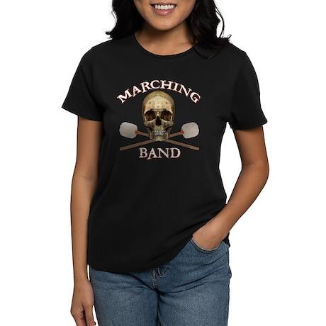 Marching Band Pirate Women's Dark T-Shirt