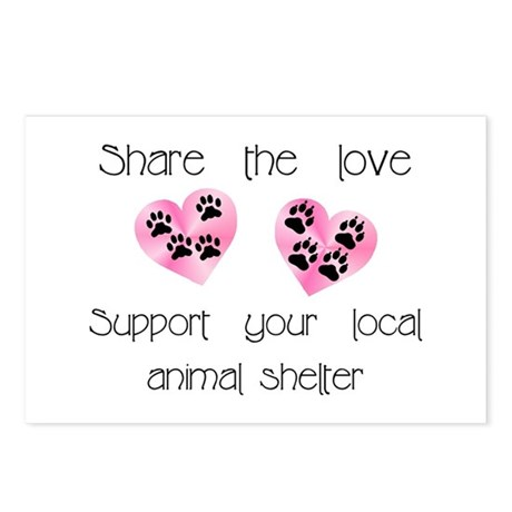 Share The Love Postcards (Package of 8)