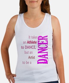 Artist Athlete Dancer Women's Tank Top