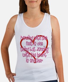 Dancing with Heart and Feet Women's Tank Top