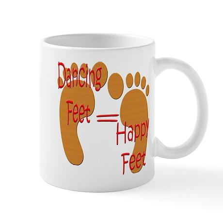 Dancing Feet are Happy Mug