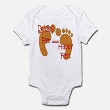 Dancing Feet are Happy Infant Bodysuit