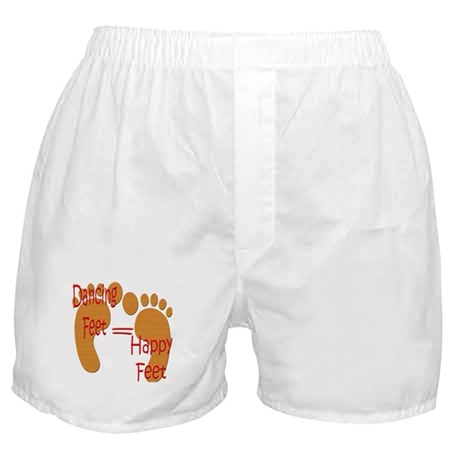 Dancing Feet are Happy Boxer Shorts