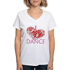 I heart/love Dance Shirt