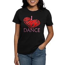 I heart/love Dance Tee