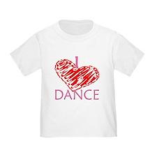 I heart/love Dance T