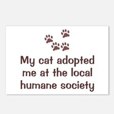 Cat Adopted Me Postcards (Package of 8)