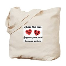 Share The Love Tote Bag
