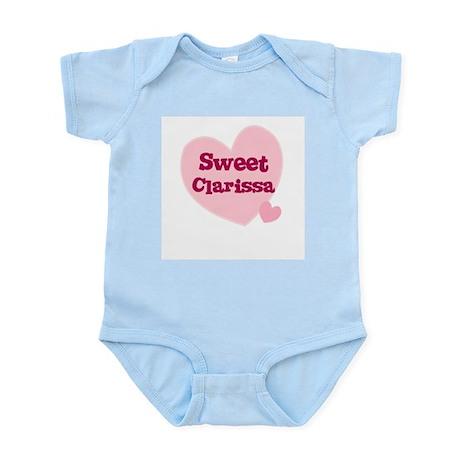 Sweet Clarissa Infant Creeper