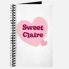 Sweet Claire Journal