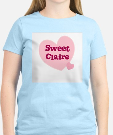 Sweet Claire Women's Pink T-Shirt