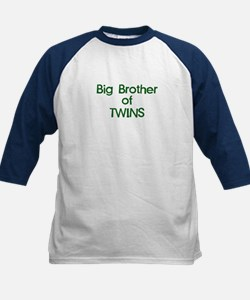 Big Brother of Twins Kids Baseball Jersey