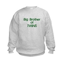 Big Brother of Twins Sweatshirt