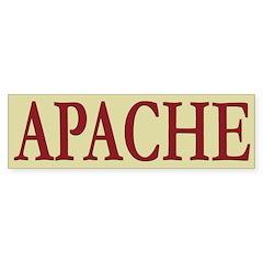 Apache Tribe Bumper Sticker (10 pk)