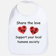 Share The Love Bib
