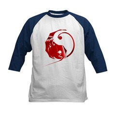 Red Dragon Kids Baseball Jersey