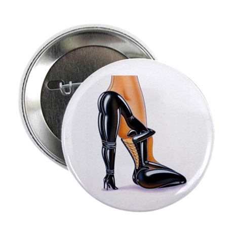 "Fetish High Heeled Shoe 2.25"" Button (10 pack)"