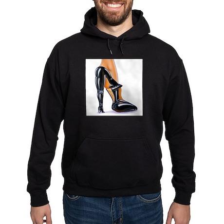 Fetish High Heeled Shoe Hoodie (dark)