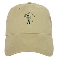 Light Blue Archery Baseball Cap