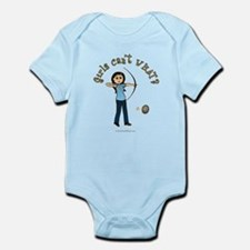Light Blue Archery Infant Bodysuit