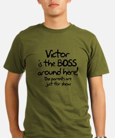 Victor is the Boss T-Shirt