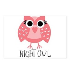 Cute Cute owls Postcards (Package of 8)