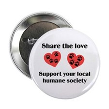"Share The Love 2.25"" Button (10 pack)"
