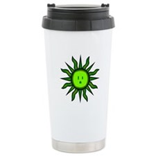 Green Energy Sun Travel Mug
