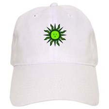 Green Energy Sun Baseball Cap
