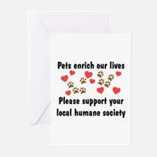 Pets Enrich Greeting Cards (Pk of 10)