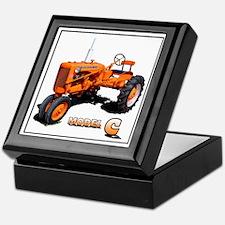 Unique Chalmers grandpa agriculture Keepsake Box